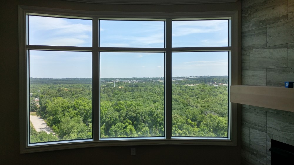 Shutters and Millwork Wood Shutters Installation in highrise in Tyler, TX