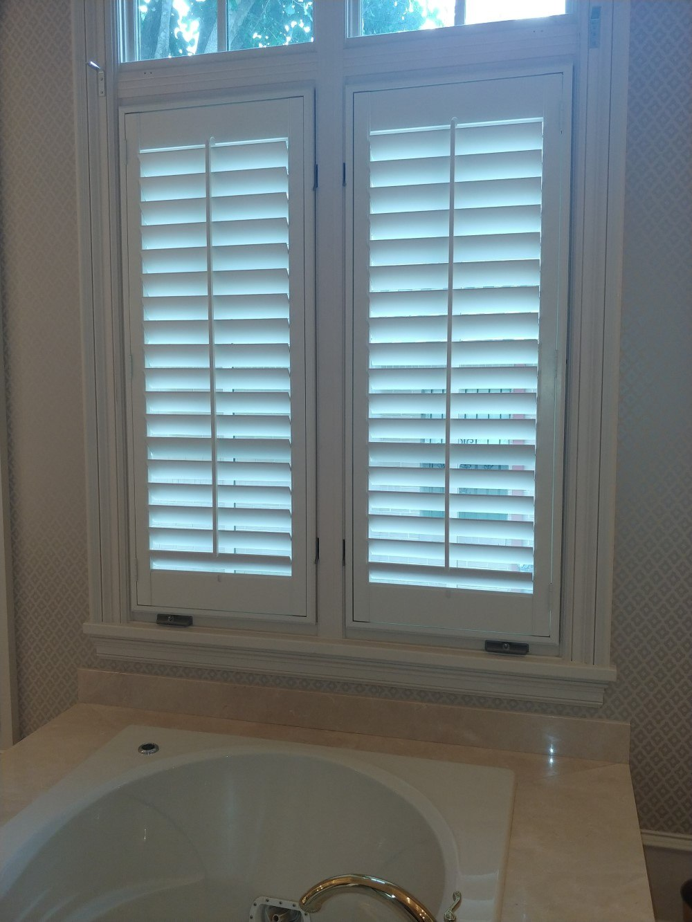 Graber Traditions Wood Shutters Installation in Tyler, TX