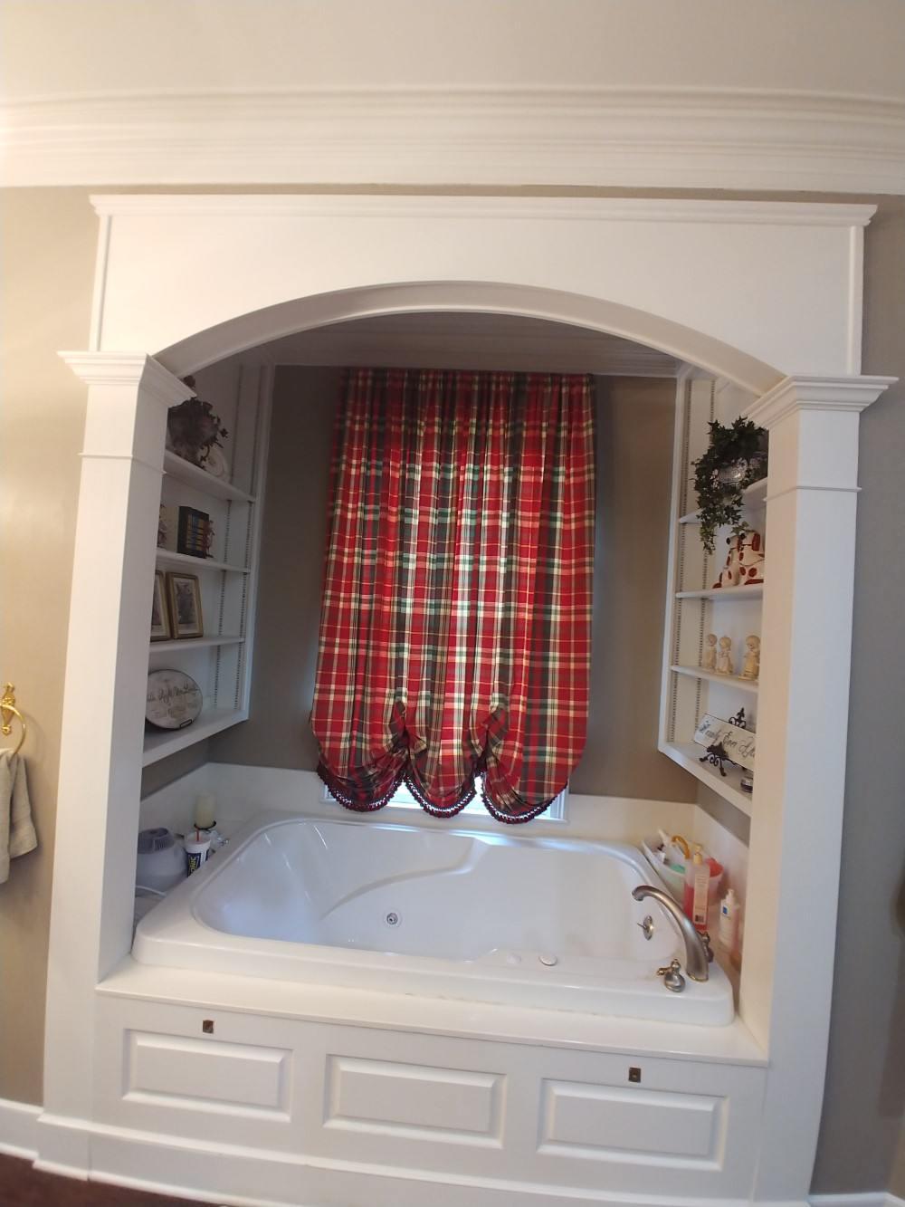 Master Bath Shutters Installation in Jacksonville, TX