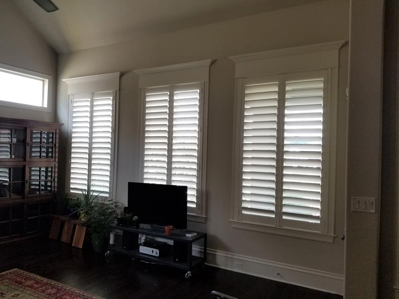 Tyler Wood Shutters Installation